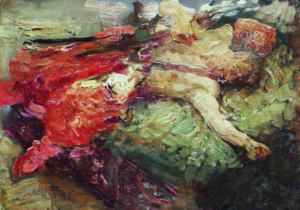 sleeping-cossack-1914